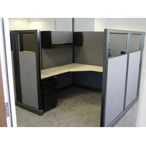 "Remanufactured 6' x 6' x 65"" high Herman Miller AO1 Cubicles"