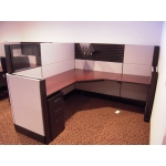 "Remanufactured 6' x 6' x 54"" high Herman Miller Ethospace Cubicles"