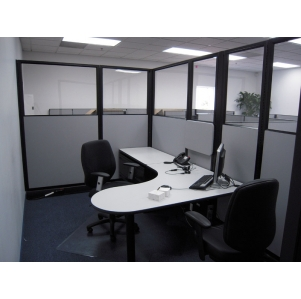 "Remanufactured 7' x 12' x 85"" high Herman Miller AO2 Cubicles"