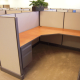 "Remanufactured 6' x 6' x 48""high Herman Miller AO1 Cubicles"
