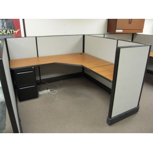"Remanufactured 6' x 6' x 47"" high Herman Miller AO2 Cubicles"