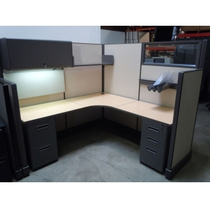 """New 6' x 6' x 67""""high System 2 Cubicles"""